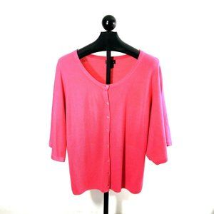 Lane Bryant Womens Plus Sz 18 / 20 Fuschia Sweater